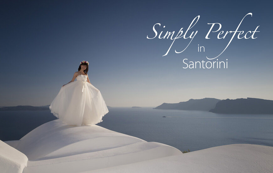 Simply Perfect in Santorini